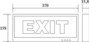 Kích thước đèn paragon EM601